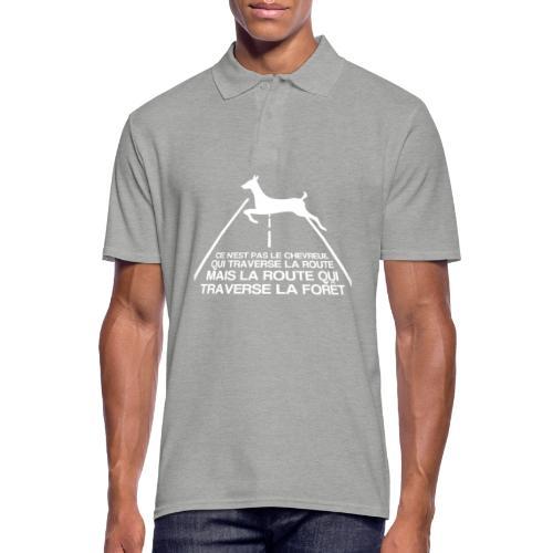 Chevreuil blanc - Polo Homme