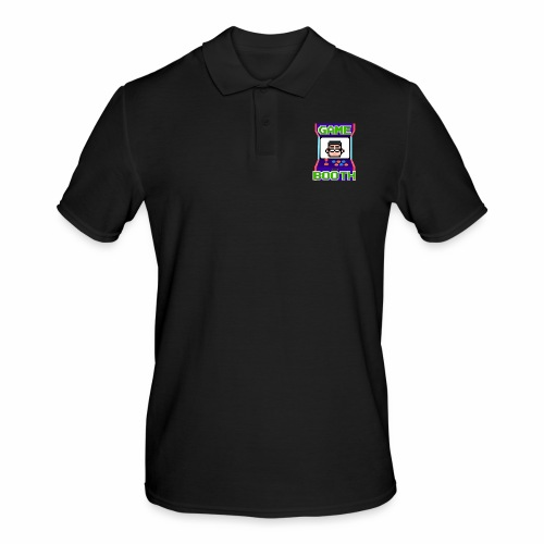 GameBooth Icon Logo - Men's Polo Shirt