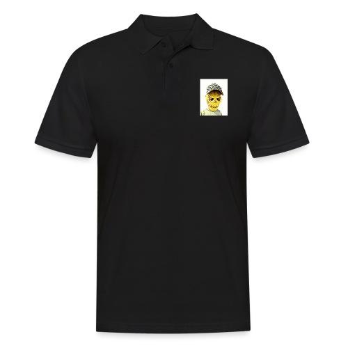 Gelber PMKM - Männer Poloshirt