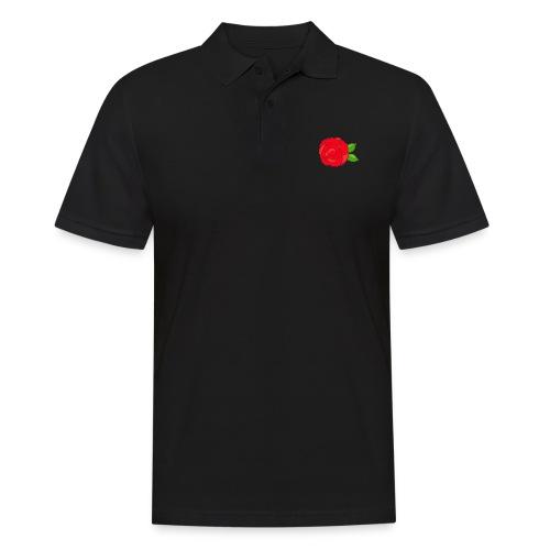 Róża - Koszulka polo męska