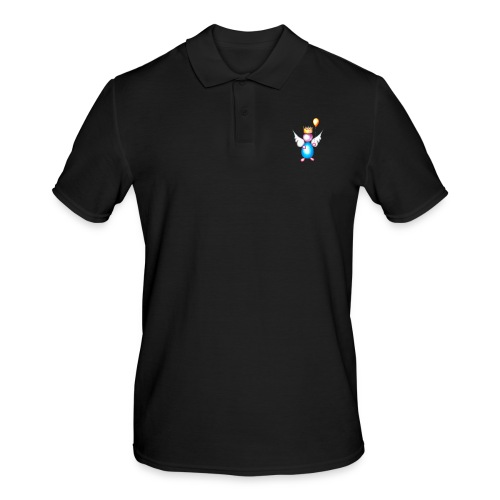 Mettalic Angel happiness - Polo Homme