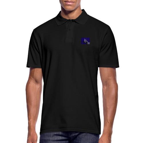 blue zebra - Men's Polo Shirt