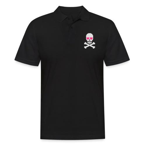 Skull Love - Mannen poloshirt