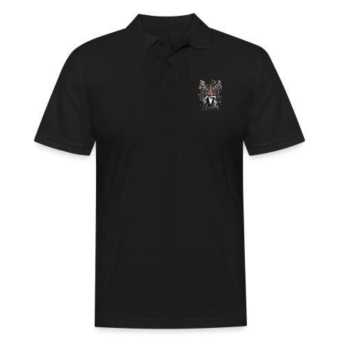 Deer Unicorn Flowers - Men's Polo Shirt