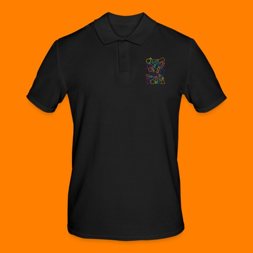 Large Laboratory Glassware - Men's Polo Shirt