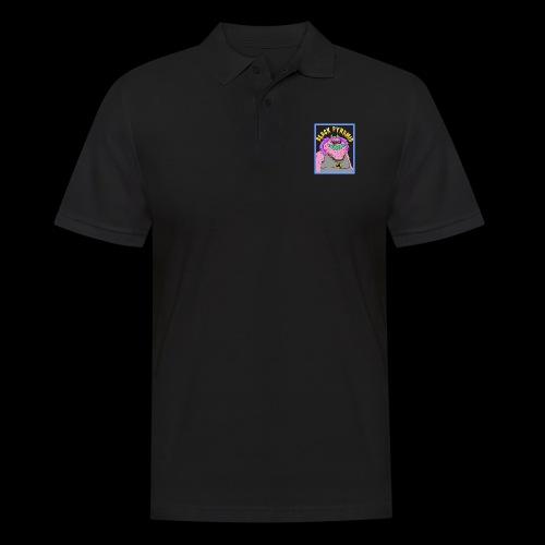 Pinkes Hip-Hop Monster - Männer Poloshirt