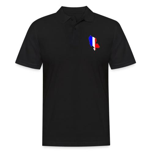 Carte Territoire de Belfort bleu blanc rouge - Polo Homme