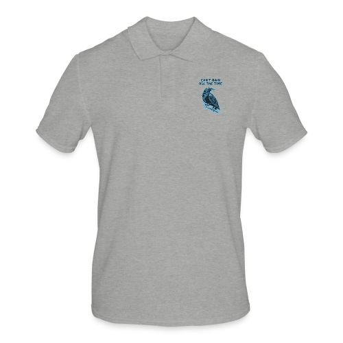 Cyan Crow - Can't Rain All The Time - Men's Polo Shirt