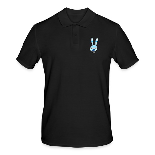 konijn cartoon - Mannen poloshirt