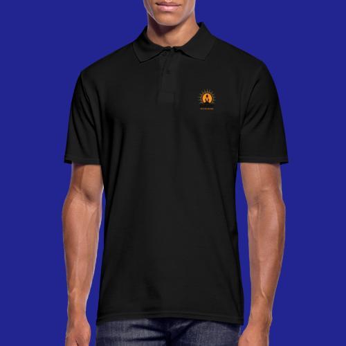 final nero con scritta - Men's Polo Shirt