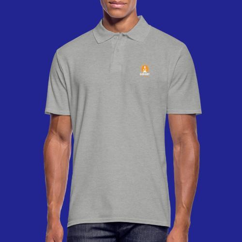 final white con scritta CORRETTO - Men's Polo Shirt