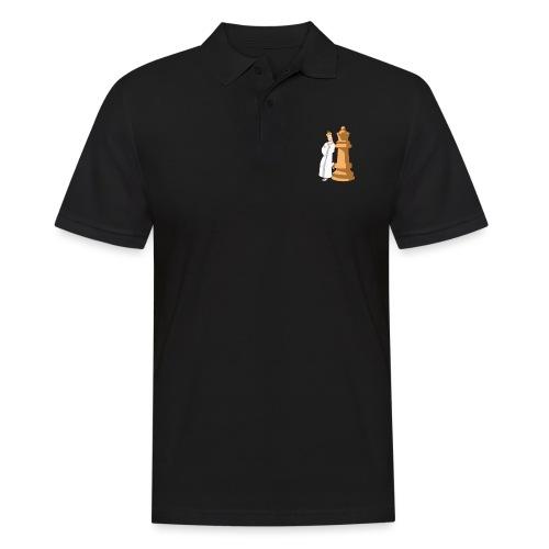 Samurai with Queen - Men's Polo Shirt