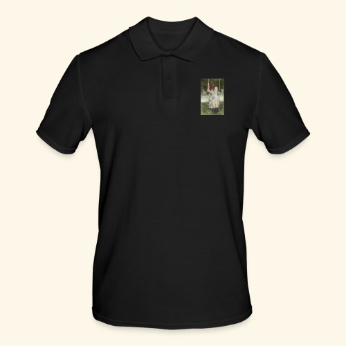 Sad Girl on Swing - Men's Polo Shirt