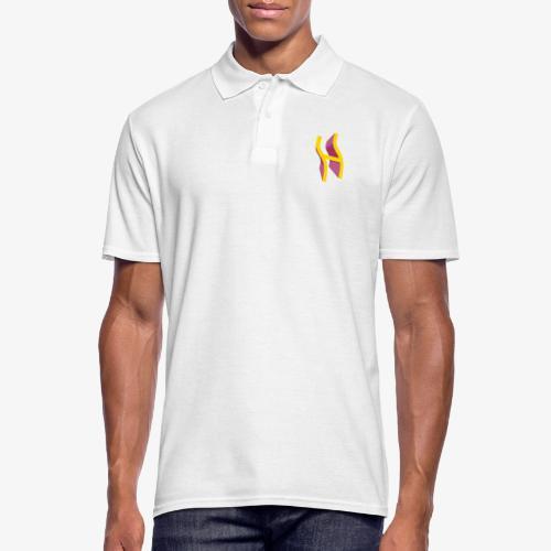 Rune Halagaz in Trendfarben - Männer Poloshirt