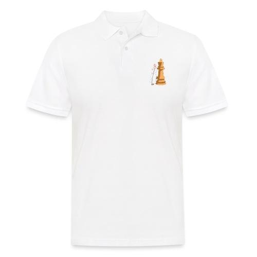 Samurai with King - Men's Polo Shirt