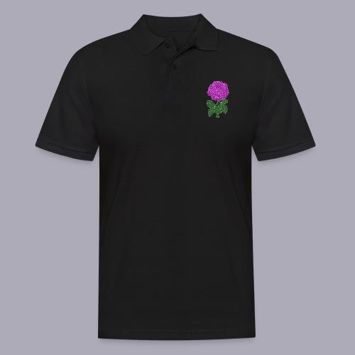 Landryn Design - Pink rose - Men's Polo Shirt