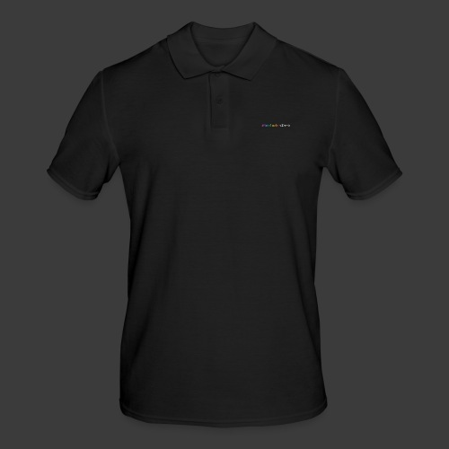 rainbow for dark background - Men's Polo Shirt