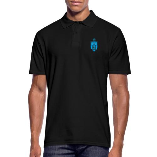 torpedo wappen blau trans png - Männer Poloshirt