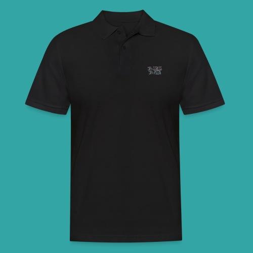 50% stress 50% pizza - Men's Polo Shirt