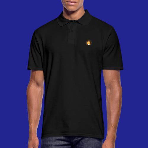 Guramylyfe logo white no text - Men's Polo Shirt