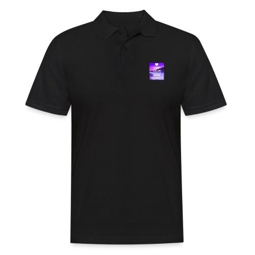 love yourself - Poloskjorte for menn