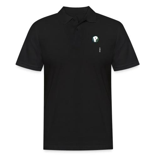 logo patrick v + name - Men's Polo Shirt