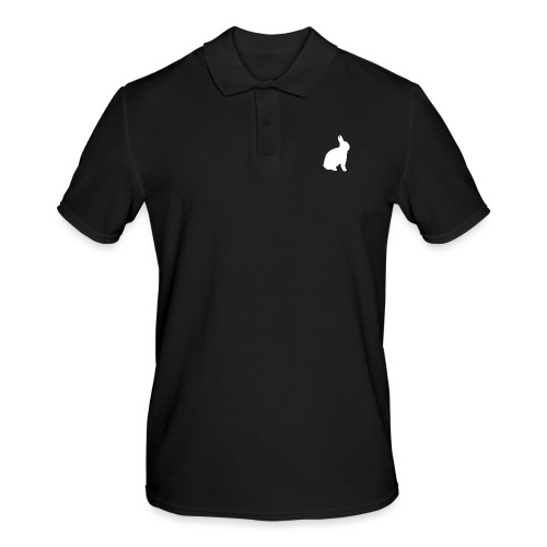 T-shirt personnalisable avec votre texte (lapin) - Polo Homme