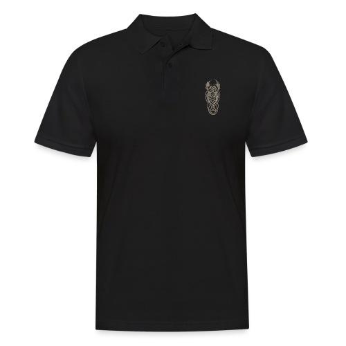 grey dragon knot - Männer Poloshirt