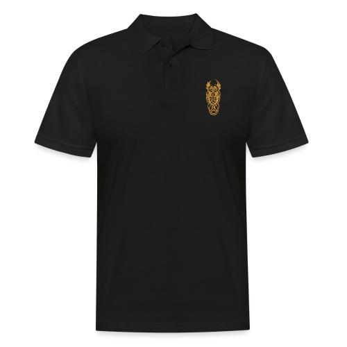 Keltische Drachen Gelb - Männer Poloshirt