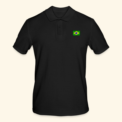 Brazilian flag InWatercolours - Pikétröja herr