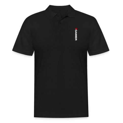 Pro Gamer (weiss) - Männer Poloshirt