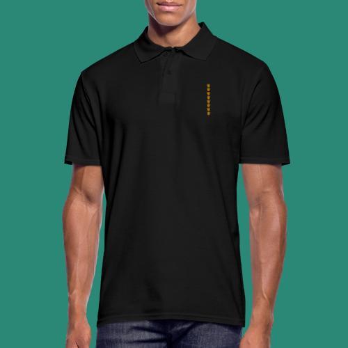 Erdbeerparade für dunkle T-Shirts - Männer Poloshirt