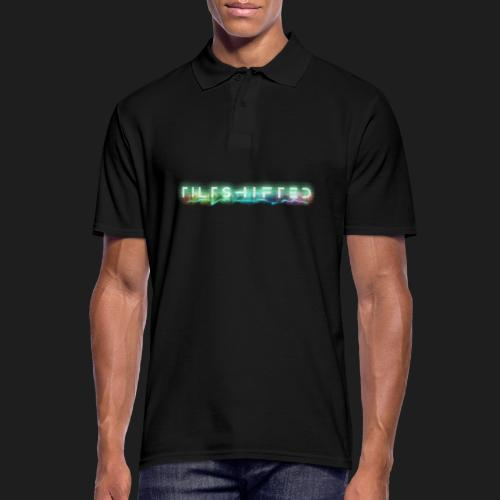 TiltShifted Logo on Black - Miesten pikeepaita