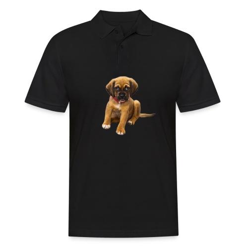 Süsses Haustier Welpe - Männer Poloshirt
