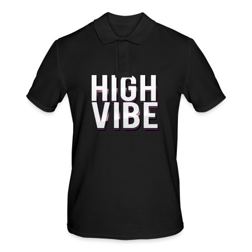 HIGH VIBES - Men's Polo Shirt