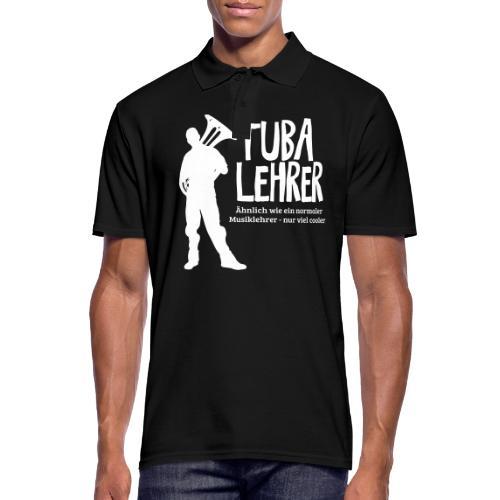 Tuba Lehrer   Tubist - Männer Poloshirt