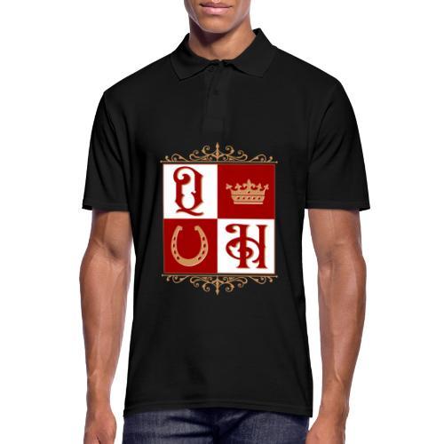 Quater Horse Ornament Pferd Royal König Geschenk - Männer Poloshirt