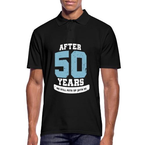 Ü50 Über 50 Jahre 50th - first - Männer Poloshirt