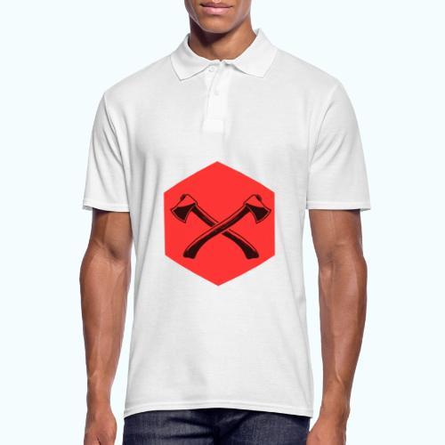 Hipster ax - Men's Polo Shirt