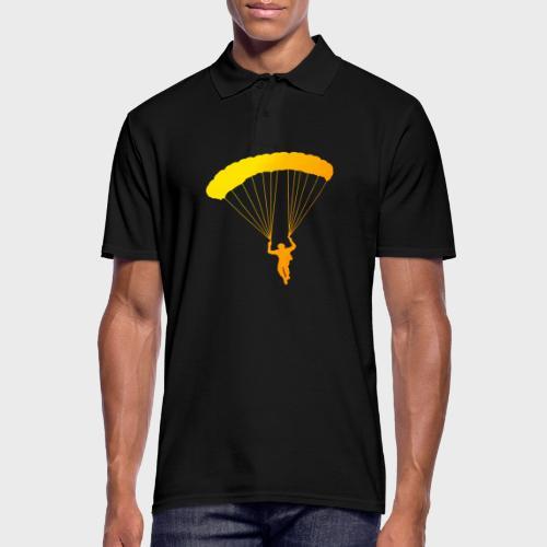 Colorfull Skydiver - Männer Poloshirt