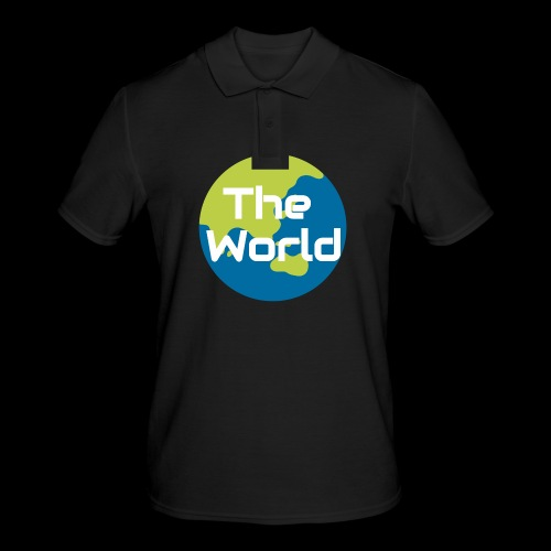 The World Earth - Herre poloshirt