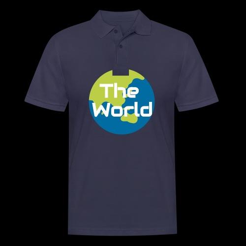 The World Earth - Herre poloshirt