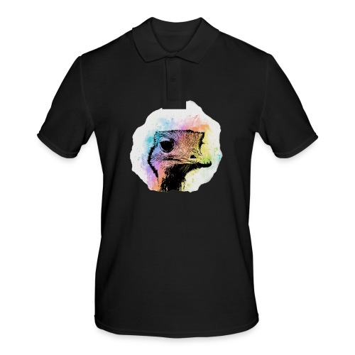 Emu Aquarell - Männer Poloshirt
