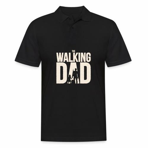 The walking Dad - Design für die besten Väter - Männer Poloshirt