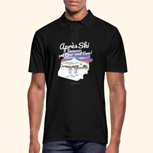 Apres Ski Forever | Ski T-Shirts - Männer Poloshirt