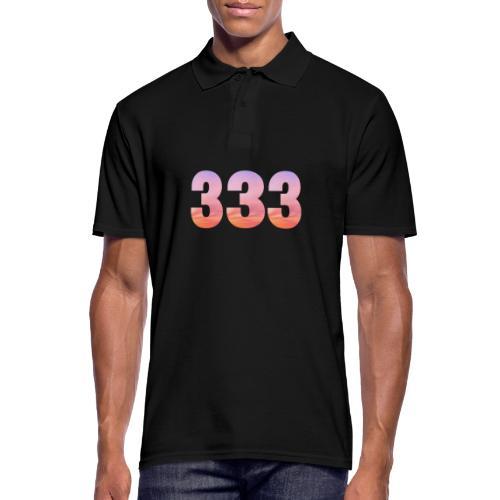 333 vous étes entouré de maitres ascensionnés - Polo Homme