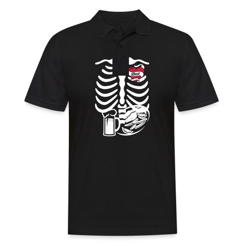 Tattoo Ribcage Dad - Men's Polo Shirt