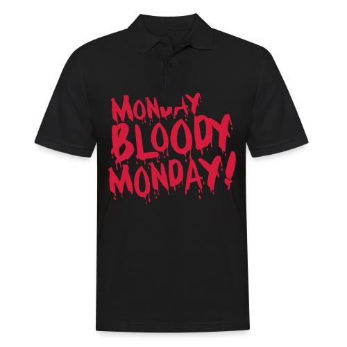 Monday Bloody Monday! - Mannen poloshirt
