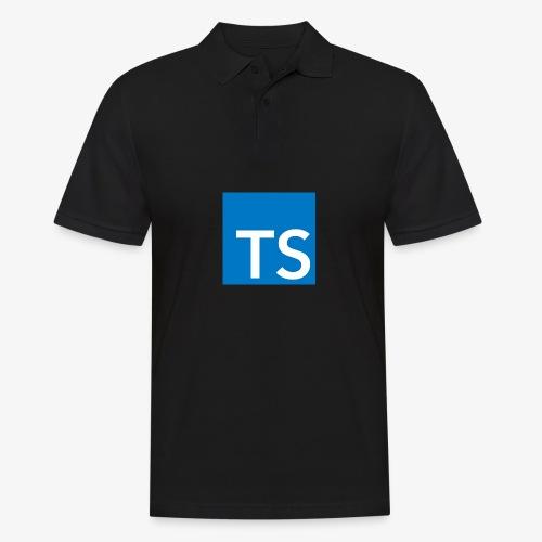 TypeScript Logo - Men's Polo Shirt
