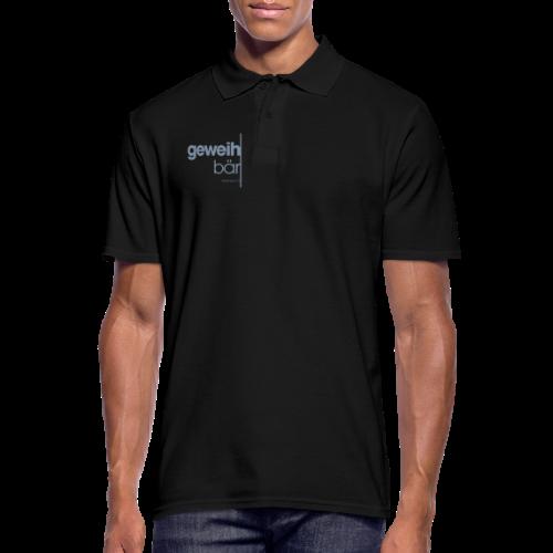 geweihbär 2019 - Männer Poloshirt